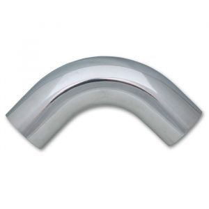 "5"" O.D. Aluminum 90 Degree Bend - Polished"