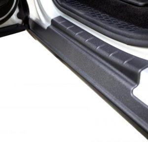 Bushwacker Traill Armor Rocker Panel and Sill Plate Cover - Black