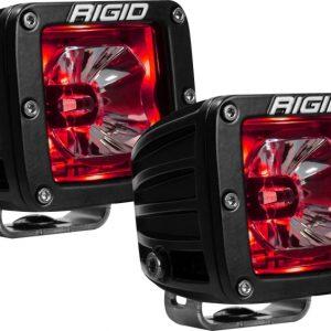 Rigid Industries Radiance Pod Red Backlight - Pair
