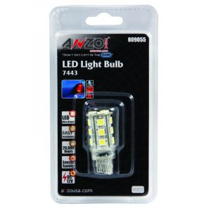 ANZO LED Bulbs Universal 7444 White - 18 LEDs 1 3/4in Tall
