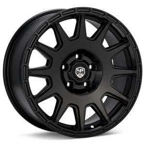 LP Aventure LP1 15x7 5-100 ET15 Matte Black Wheel