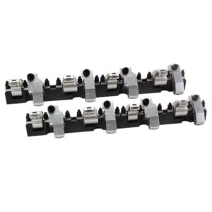 Shaft-Mount Aluminum 1.6/1.5 Ratio Rocker Kit for SBC w/ 18 Degree Bowtie Head