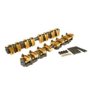Ultra-Gold ARC Aluminum Shaft-Mount Roller Rocker Arms for Ford FE
