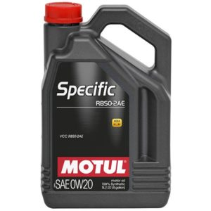 Motul SPECIFIC RBS0-2AE 0W20 - 5L - Synthetic Engine Oil