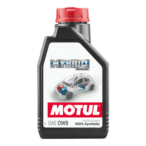 Motul HYBRID 0W8 - 1L - Synthetic Engine Oil