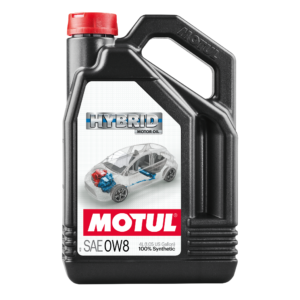 Motul HYBRID 0W8 - 4L - Synthetic Engine Oil