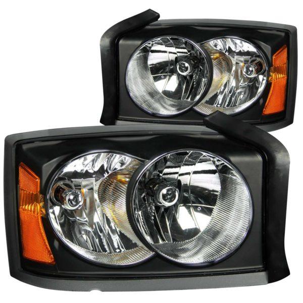 ANZO USA Crystal Headlight Set