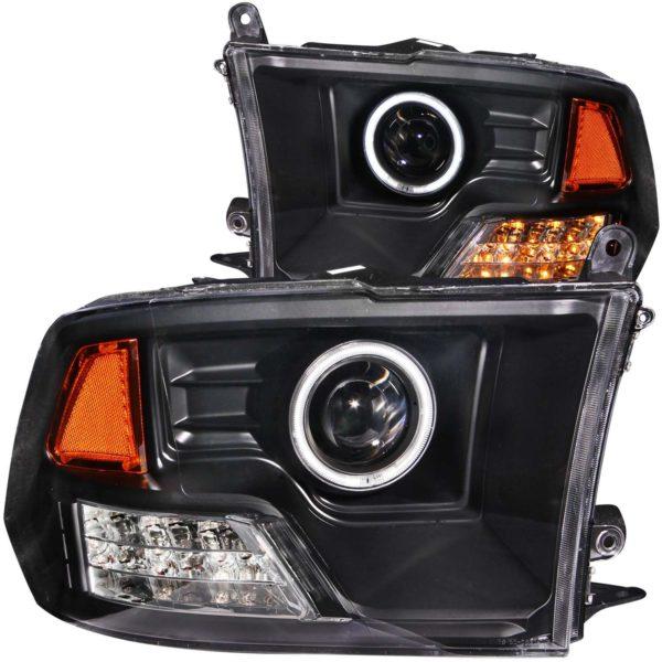 ANZO USA Projector Headlight Set w/Halo