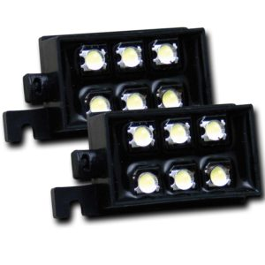 ANZO USA LED Bed Rail Auxiliary Light