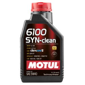 Motul 6100 SYN-CLEAN 5W40 - 1L - Technosynthese Oil