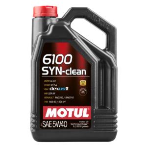 Motul 6100 SYN-CLEAN 5W40 - 5L - Technosynthese Oil