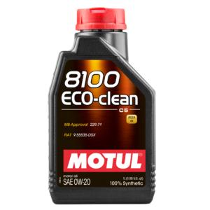 MOTUL 8100 ECO-CLEAN 0W-20 - 1L - Synthetic Engine Oil