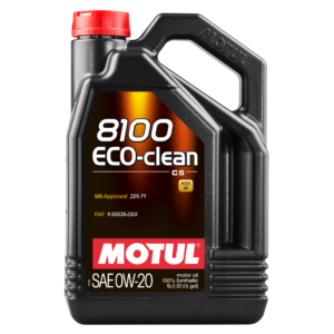 MOTUL 8100 ECO-CLEAN 0W-20 - 5L - Synthetic Engine Oil
