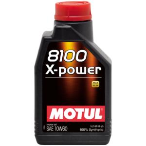Motul 8100 X-POWER 10W60 - 1L - Synthetic Engine Oil