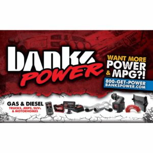 Banks Power Banner
