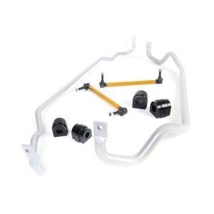 Whiteline BBK004 Front and Rear Sway Bar Vehicle Kit; Fits BMW 325i 05-11