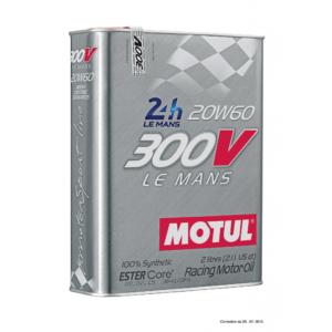 Motul 300V LE MANS 20W60 - 2L - Racing Engine Oil
