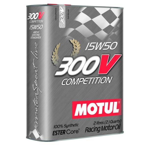Motul 300V COMPETITION 15W50 - 2L - Racing Engine Oil