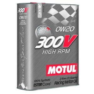 Motul 300V HIGH RPM 0W20 - 2L - Racing Engine Oil