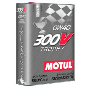 Motul 300V TROPHY 0W40 - 2L - Racing Engine Oil