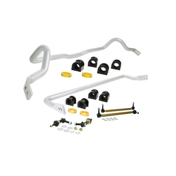 Whiteline BMK001 Front and Rear Sway Bar Vehicle Kit; Fits Mazda 3 07-09