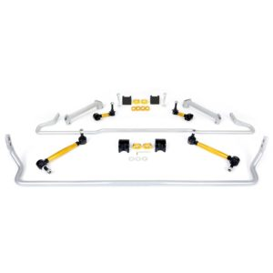 Whiteline BSK016 Front and Rear Sway Bar Vehicle Kit; Fits Subaru BRZ 13-20