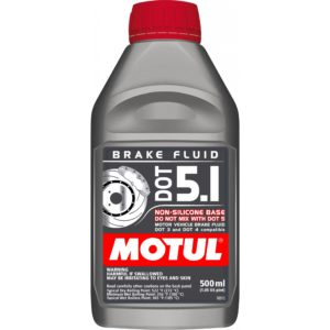 Motul DOT 5.1 - 0.500L AM - Fully Synthetic Brake Fluid
