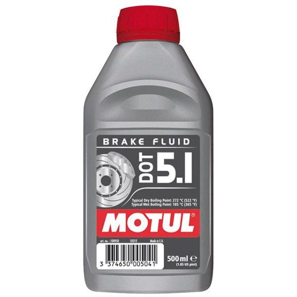 Motul DOT 5.1 - 0.500L CAN - Fully Synthetic Brake Fluid