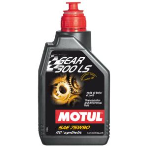 Motul GEAR 300 LS 75W90 - 1L - Fully Synthetic Transmission fluid - Ester based