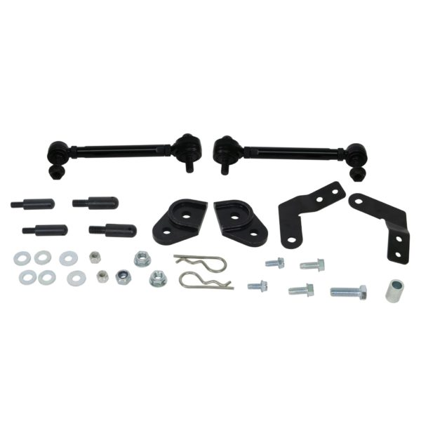 Whiteline KLC234 Front sway bar link kit; Fits Jeep Wrangler 18-19