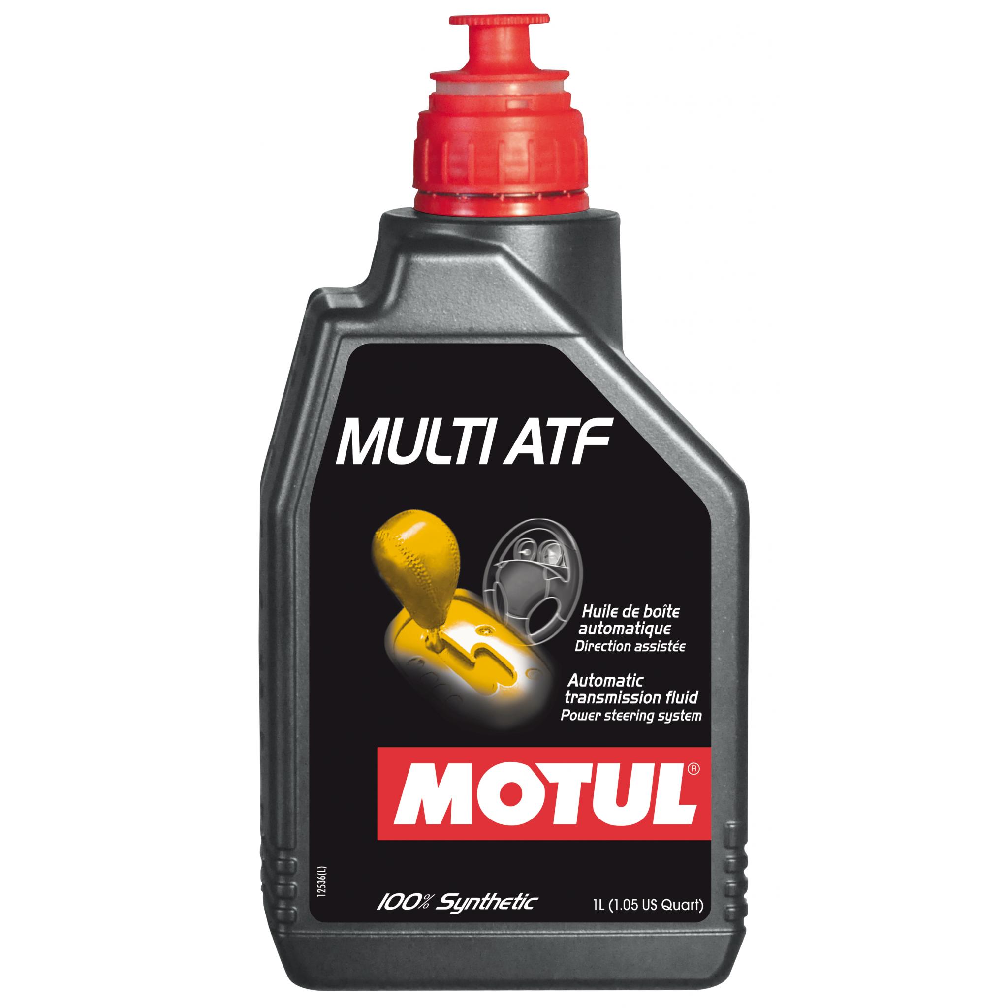 Motul MULTI ATF - 1L - Fully Synthetic Transmission fluid