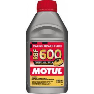Motul RBF 600 FL - 0.500L AM - Fully Synthetic Racing Brake Fluid