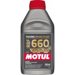 Motul RBF 660 FACTORY LINE - 0.500L AM - Fully Synthetic Racing Brake Fluid