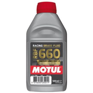 Motul RBF 660 FACTORY LINE - 0.500L CAN - Fully Synthetic Racing Brake Fluid