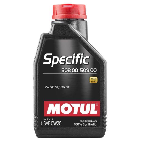 Motul SPECIFIC 508 00 509 00 0W20 - 1L - Synthetic Engine Oil