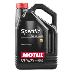 Motul SPECIFIC 508 00 509 00 0W20 - 5L - Synthetic Engine Oil