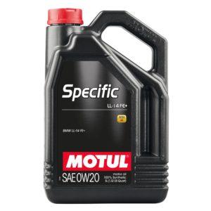 Motul SPECIFIC LL-14 FE+ 0W20 - 5L - Synthetic Engine Oil