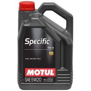 Motul SPECIFIC 948B 5W20 - 5L - Synthetic Engine Oil